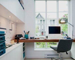 Un bureau avec vue u design et formations™