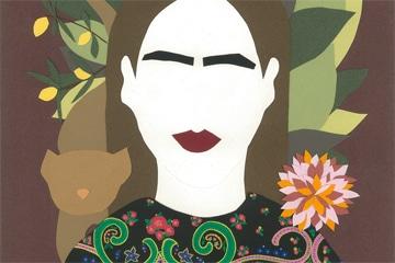 Découvrez le projet «Frida Kahlo» de notre étudiante Sandy V.