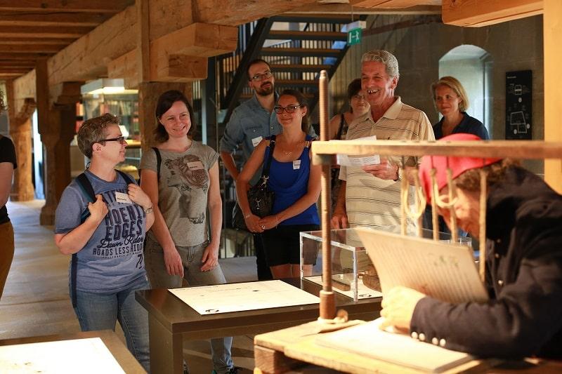 Nos étudiants en graphisme en visite au Musée Gutenberg !