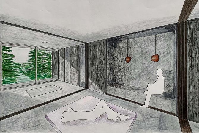 Découvrez le travail de Luce, étudiante en design d'intérieur
